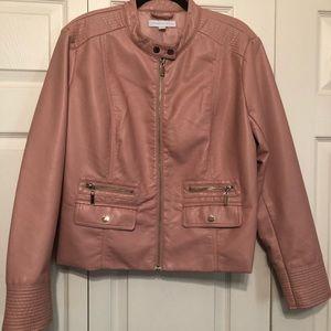 Pink Pho leather jacket